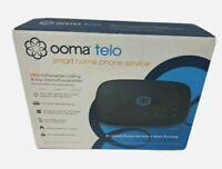 Ooma Telo Smart Home Internet Phone Service Free Nationwide Calling NEW - Black!
