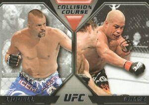2011 Topps UFC Moment of Truth Collision Course Card #CCLO Liddell/Tito Ortiz