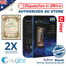 2xNUGLAS Tempered Glass Screen Protector Apple iPhone 11 Pro XS Max XR  8 7 Plus