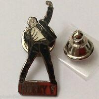 Pin's Folies *** Enamel Badge Sylvester Stalone  Cinema Movie Rocky V