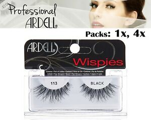 Ardell Cosmetics Lashes Natural Demi Wispies 113 Individual Fake Eyelashes Black