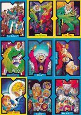 X-FORCE 1991 COMIC IMAGES COMPLETE BASE CARD SET OF 90 MARVEL
