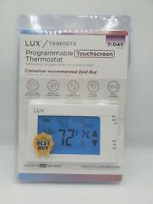 Lux TX9600TS 7-Day Touchscreen Universal Programmable Thermostat NEW Open Box