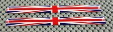 England UK Great Britain Sticker / Union Jack Flag /  Long Pair