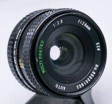 Auto Sears 28mm F2.8 Pentax K PK Mount Prime Lens For SLR/Mirrorless Cameras