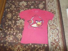 ANGRY BIRDS MEN'S RED T SHIRT SIZE SMALL
