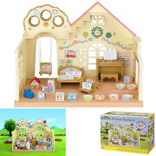 Sylvanian Families Babies Forest Nursery House Baby Dolls Toys Play Area Family