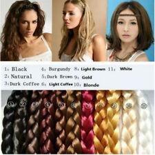DIY Synthetic Hairband Plaited Elastic Headband Fashion Braided Hair Accessories