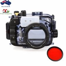 AU Seafrogs 60m Underwater Camera Diving Housing Case for Sony A6000 A6300 A6500