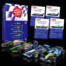 4SET Benetton Renault Ford R26 2006 B195 1995 B189 B190 Formula F1 1/64 Kyosho