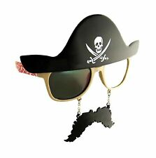 Costume Sunglasses Pirate Sun Staches Party Favors Comfortable Kids Halloween
