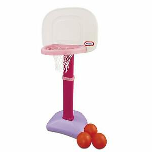 Little Tikes Easy Score Basketball Set in Pink, Kids Toddler Girl Sports Toy
