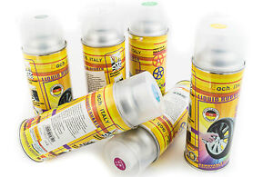 VERNICE REMOVIBILE BOMBOLETTA SPRAY 400ml PELLICOLA WRAPPING CERCHI AUTO MOTO