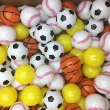 """100 1"""" 32mm Sports Ball Toy Vending Machine Balls only 15 cents each free S&H !"""