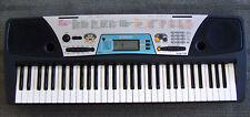 Yamaha PSR 170 Electronic Keyboard Synthesizer electric piano w power supply