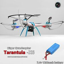 RC Quadcopter Drone UFO JJRC YiZhan H16 Tarantula X6 DRONE MP HD Camera Blue