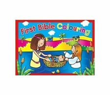 First Bible Colouring Book 10 Chunky Colouring Pencils Christmas Stocking Filler
