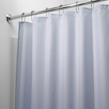 HEAVY DUTY MILDEW FREE VINYL WATERPROOF SHOWER CURTAIN LINER WITH MAGNETS NEW