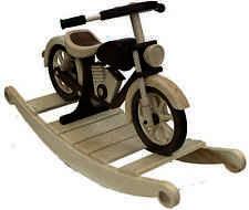 ROCKING HORSE BLUEPRINT...PLAN...ROCKING MOTORCYCLE Woodworking Blueprint Plan