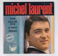 EP 45 TOURS MICHEL LAURENT PERDU 26.018 M TWIST en 1963 BIEM