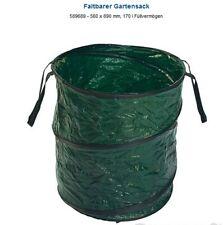 Gartensack, Laubsack, Grünabfalleimer Pop-Up 170 Liter Gartenabfallsack