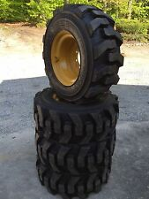 12-16.5 Carlisle Ultra Guard Skid Steer Tires/wheels/rims for Caterpillar12X16.5