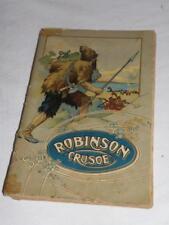 RARO libro ROBINSON CRUSOE  DEFOE  1943  old book