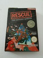 Rescue The Embassy Mission - Nintendo NES Game [PAL A UKV] CIB