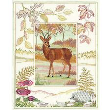 Derwentwater Designs Wildlife Cross Stitch Kit - Deer
