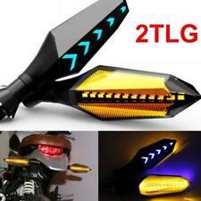 2pcs 12 LED Blinker Motorrad Laufeffekt Lauflicht Sequentiell QUAD ROLLER ATV #D