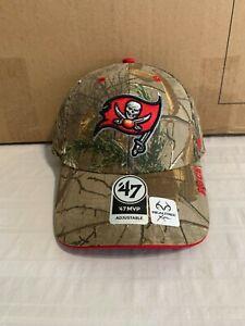 Tampa Bay Buccaneers NFL '47 Brand Realtree Camo Frost MVP Adjustable Hat