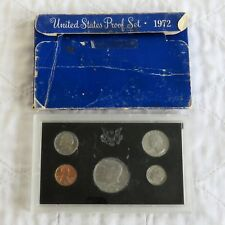 USA 1972 s 5 COIN PROOF YEAR SET - outer