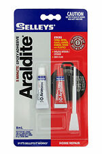 Selleys 5 Minute Araldite 8ml Holds Up To 75KG Stick Metal,Glass,Plastic 04-891