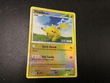 Pokemon card holo reverse Pikachu basic platinum 70/100 025 2008