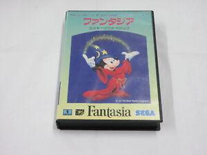 A677 Sega Mega Drive Fantasia Micky Mouse Magic Japan MD