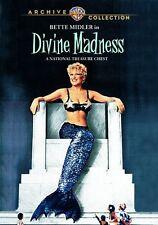 DIVINE MADNESS : BETTE MIDLER -  Region Free DVD - Sealed
