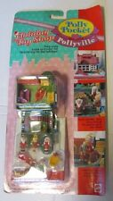 Vintage 1990s POLLY POCKET Pollyville HOLIDAY TOY SHOP Mint on DENTED Card