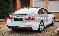BMW F32 4 series M Performance Rear Trunk Spoiler trunk wing Lip Sport Trim door