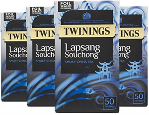 Twinings Lapsang Souchong Tea 200 Tea Bags Multipack of 4 x 50 Tea Bags