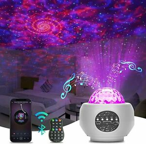 Projector Galaxy Starry Sky Night Light Ocean Star Party Speaker LED Lamp Remote
