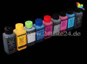 9 x 250ml Pigment Tinte Refill Ink k3 Pro 3800 3850 3800C 3890 3885 3880 Epson