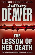 The Lesson of Her Death, Jeffery Deaver, Excellent