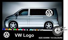 VW Logo Transporter Camper Van Caravelle Graphics Decals Stickers T4 T5 Caddy