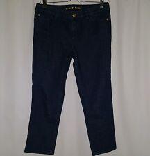 Micheal Kors Womens Capris Jeans Size 4 Dark Blue Stretch