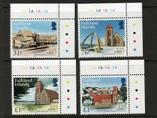 FALKLAND ISLANDS 2017 125 years of Christ Church Cathedral set MNH.