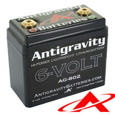 Antigravity Batteries AG-802 Lithium Motorcycle Battery 6V 120 CCA 8-Cell