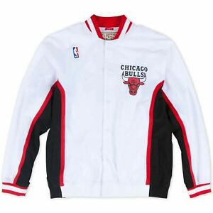 Mens Mitchell & Ness NBA 1992-93 Authentic Warm Up Jacket Chicago Bulls