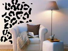 I96 Wall Decal Sticker Cheetah leopard skin cat spot animals natural texture