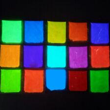 10g Glow In The Dark Powder AQUA/PINK Resin Strontium Aluminate Pigment Pow Pro