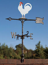 Golden Egg Rooster Vintage Chicken Weathervane-Garden with free Roof top Mount